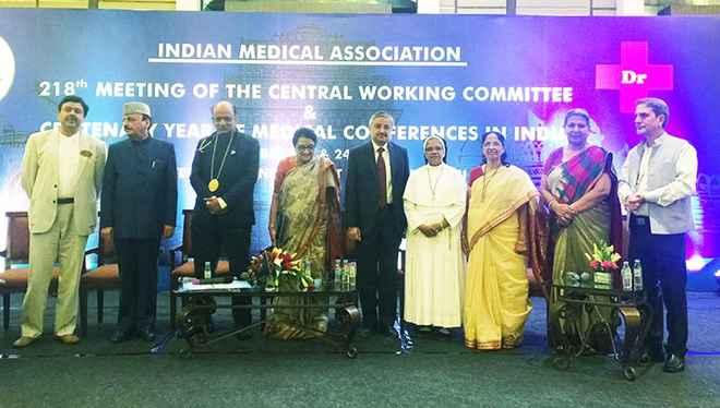 IMA felicitated Senior Nurse Leaders